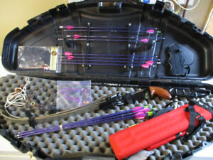 Complete left handed youth Olympic recurve archery kit  $250 obo