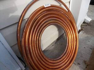COPPER pipe, 60 ft. roll of new half inch diameter L-type Prince George British Columbia image 1