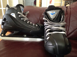 Patins de gardien de but (hockey) junior.