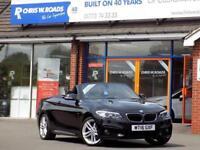 2016 16 BMW 2 SERIES 218D M SPORT 2DR CONVERTIBLE (150) DIESEL