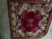 Two vintage rugs mint