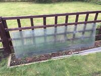 Toughened greenhouse glass