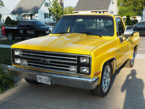 1986 chevy short box certified