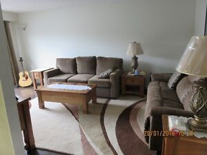 all furniture 2yrs. old no pets no kids. high end. Moving.