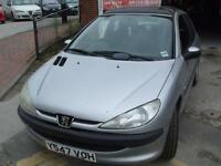 PEUGEOT 206 1.4 AUTOMATIC LX 3 DR HATCH ELECTRIC SUNROOF PANORAMIC
