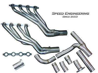 Speed Engineering Silverado Sierra Truck 1 3/4 Headers Y-Pipe 07-13 4.8 5.3 6.0