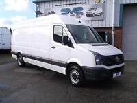 2012 12 VOLKSWAGEN CRAFTER LWB BLUEMOTION S/S H/R 109BHP CHOICE OF @ SIMPLY VANS