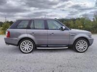 57 LAND ROVER RANGE ROVER SPORT 2.7TD V7 AUTO LOW 124K 22 INCH ALLOYS PX SWAPS