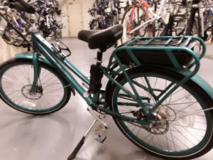 TWO   PEDEGO  E  BIKES   FRAME  SIZE  26  AND  28 INCHES