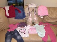 Baby girl clothes 9-12 month bundle
