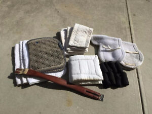 Misc. saddle pads and blankets