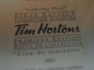 Tim Hortons limited edition metal canister London Ontario image 3