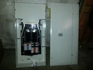 200 Amp main entrance breaker panel with 25 circuit breakers