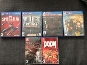 NINTENDO SWITCH/PS4 Games for Sale!!!