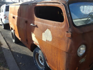 1966 Chevy Chopped van