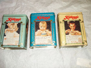 Kellogg's  collector tins (3)