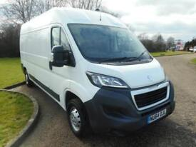 2014 64 PEUGEOT BOXER 2.2HDI 130BHP 6 SPEED L3 H2 LWB NEW SHAPE 1 OWNER