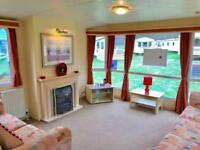 CHEAP 2 bed Double Glazed & Central Heated caravan on 12 month park