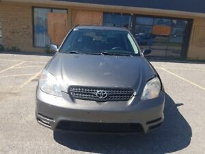 2007 Toyota Matrix 5 speed, A/C, 199K, for Export!!!