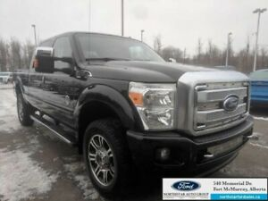 2015 Ford F-350 Super Duty Platinum  |6.7L|Rem Start|Nav|Moonroo