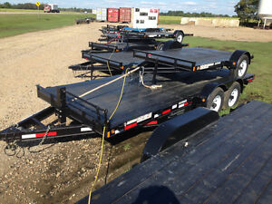 """New"" Rainbow Excursion 18' HD Tandem Car & Equipment Trailer"