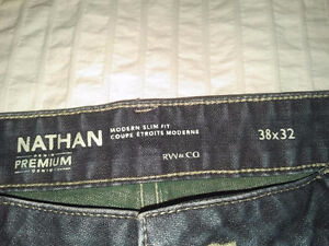 4 Pairs of Barely Used Jeans 38 x 32 Blue Beige Calvin Klein Cambridge Kitchener Area image 5