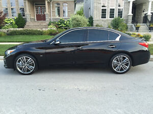 2014 IMMACULATE Infiniti Q50S AWD Sport/premium/technology Sedan