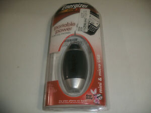 Energizer Portable Power Pack, for Cell Phone or Portable Device