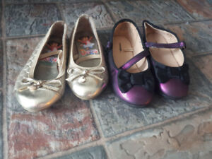 Toddler girls shoes size 7 &8