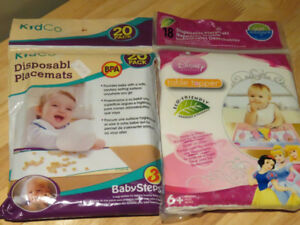 Disposable Placemats (2 packs, $5 each) OBO (BRAND NEW, SEALED)