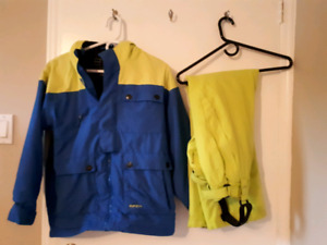 Boys ski jacket and ski pants
