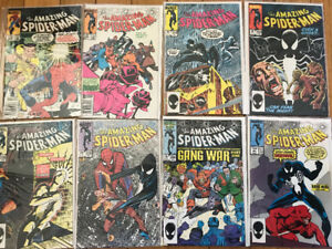 Amazing Spider-Man 246,253,254,255,256,258,284,287