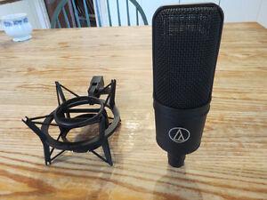 AT4033a/SM transformerless studio microphone
