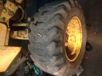 "Need 2 )16"" steer tires for my backhoe"