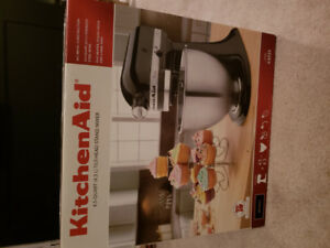 * Kitchen aid Stand Mixer - K45SS - Brand new in sealed box *