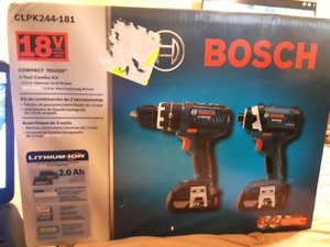 Bosch 18V Drill and Impact set