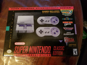 Snes classic never opened