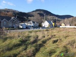 Terrain constructible à vendre à l'Anse-St-Jean
