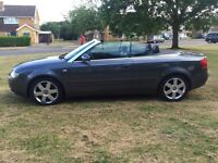 **BARGAIN**2005 Audi A4 Convertible 2.4 V6 Petrol Automatic*LOW MILES ONLY 67K*not BMW FORD VW