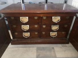 Antique American filing cabinet