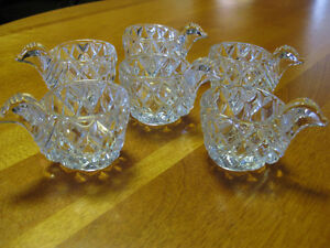 Crystal egg cups