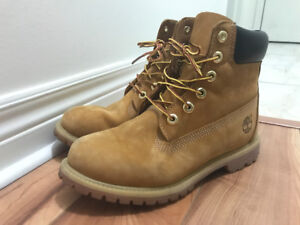 Beige Bottes Timberland  boots 8,5