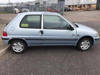2000 X Peugeot 106 1.1 Ltd Edn Independence 3 DR HATCHBACK NO MOT NO OFFERS