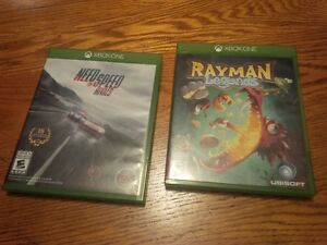 Xbox One Games: Rayman Legends and Need for Speed Rivals