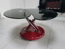 Glass Italian coffee table