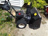 Mtd snow blower for repair or parts