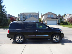 2013 Nissan Armada Platinum – NO ACCIDENTS / DVD / 8 SEATER