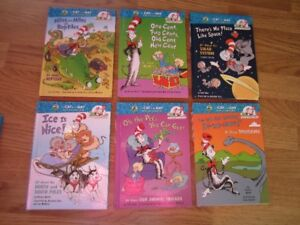 """CHILDREN'S ENGLISH """"THE CAT IN THE HAT"""" BOOKS - $30.00 FOR LOT"""