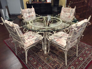 """48"""" round glass table top"""