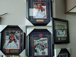 Sports Pictures Framed See List Below TAX INCL> 727-5344